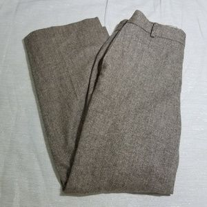 Banana Republic Brown Wool Martin Fit Trousers 6